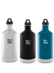 Klean Kanteen� 1900 ml Classic isolierte Trinkflasche - Winter Lake