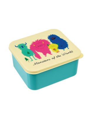 Monsters of the World lunch box