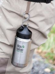 Klean Kanteen® 355 ml Wide isolierte Trinkflasche - Black Eclipse