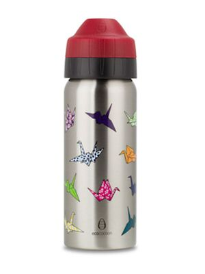 Ecococoon Trinkflasche isoliert 500 ml - Origami Cranes