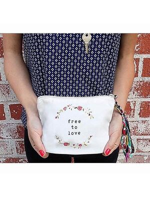 The Tote Project Handtasche / Clutch -  free to love
