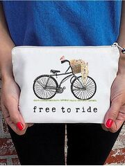 The Tote Project Handtasche / Clutch -  free to ride...