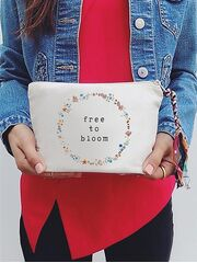 The Tote Project Handtasche / Clutch -  free to bloom