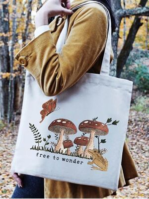 The Tote Project Handtasche mit Magnetverschluss -  free to wonder