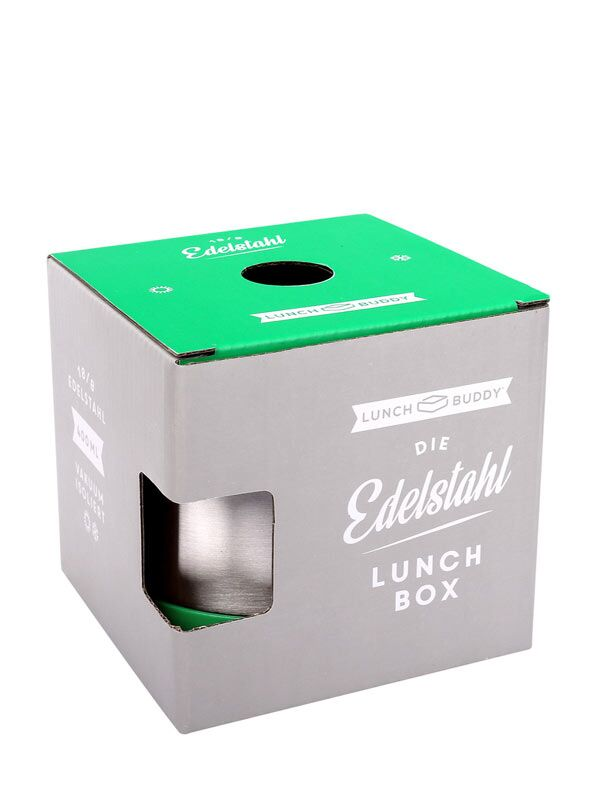 LunchBuddy Edelstahl Isolierbehälter 400 ml - Pink