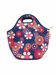 LunchBuddy Lunchtasche - Retroblumen