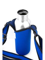 LunchBuddy Bottle Sling S (500 ml) - blue