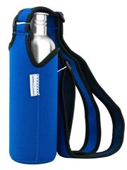 LunchBuddy Bottle Sling M (800 ml) - blue