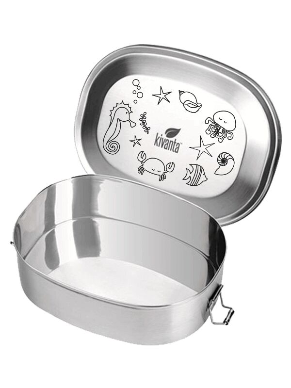 Kivanta Motiv-Deckel für Lunchbox XL - LOVE WATER | Krabbe