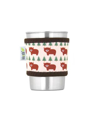 Kivanta Sleeve für Trinkbecher 300 ml - Brown Bear