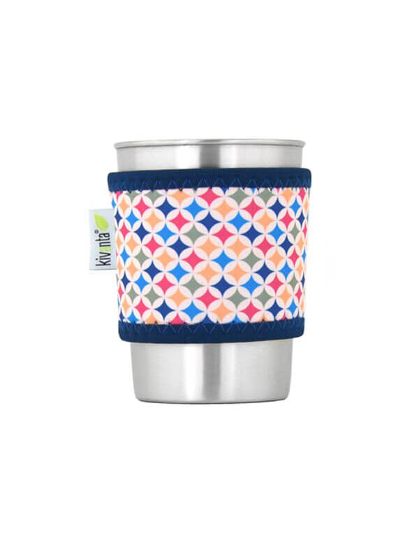 Kivanta Sleeve für Trinkbecher 300 ml - Criss Cross