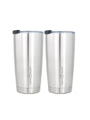 LunchBuddy Vorteils-Set: 2 x isolierter Kaffeebecher XL 570 ml