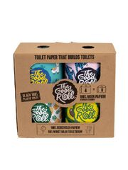 The Good Roll 4 Pack / 4 Rollen (zweilagiges Toilettenpapier)