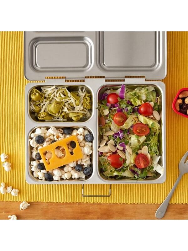 PlanetBox Brotdose / Lunchbox Launch inkl. Tall Dipper - neue Version